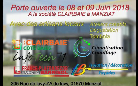 8 & 9 juin – RDV à Manziat chez Clairbaie